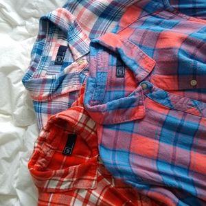 Bundle of Gap flannels!